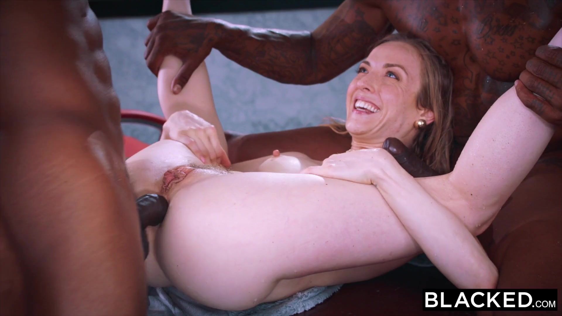 This Bored Wife Found Thar She Need Two BBCs