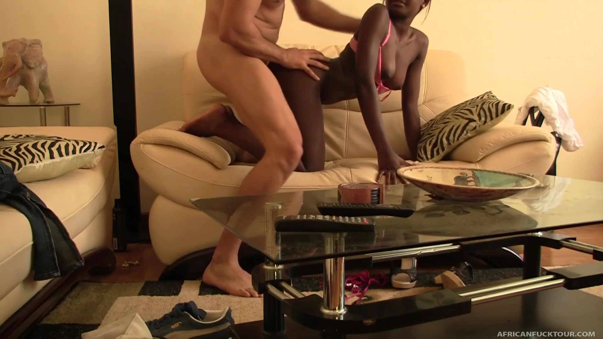 White dude loves licking and banging cooch of black hottie Ama