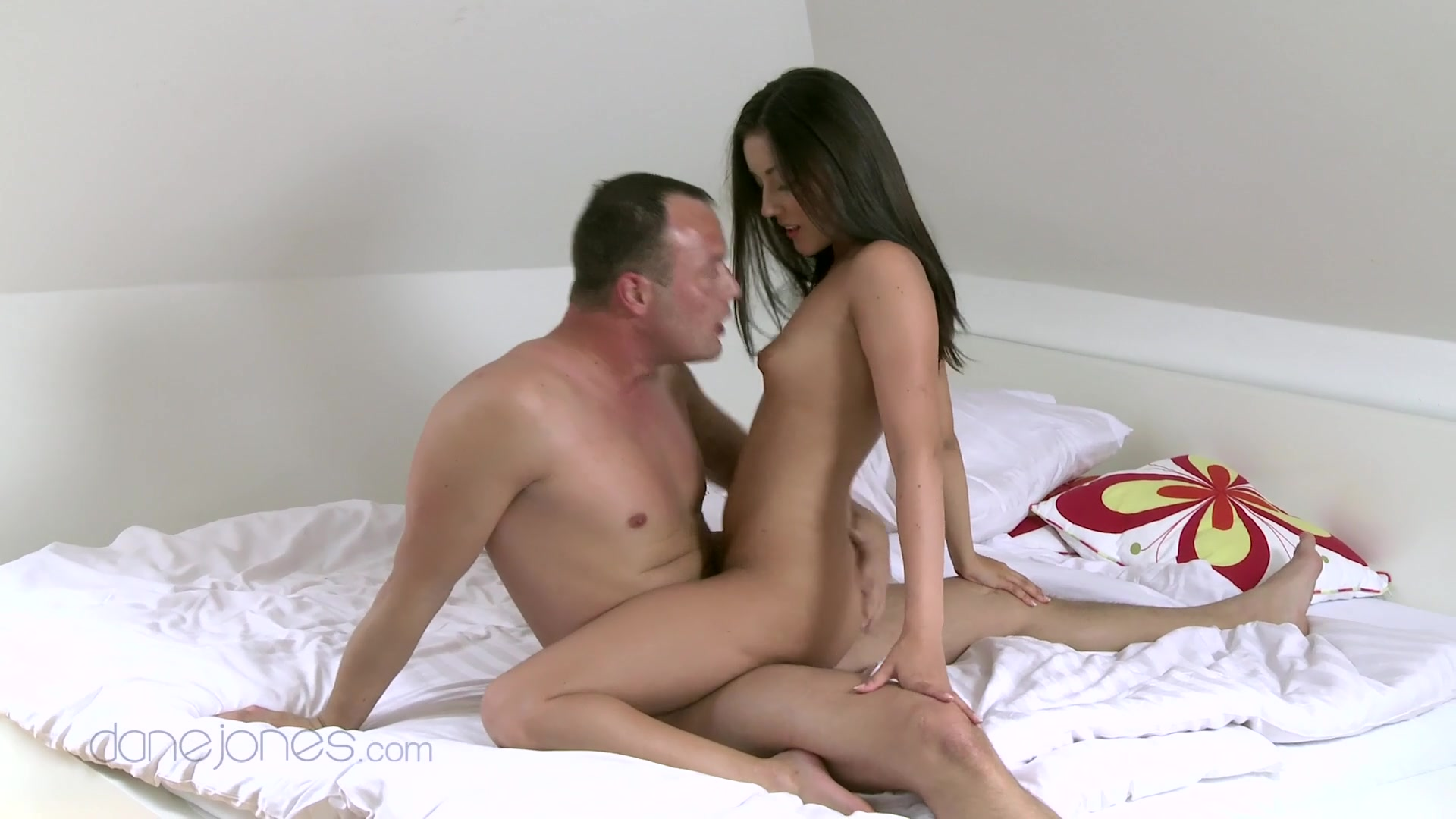 Amateur video of a nice tits Czech girlfriend getting fucked