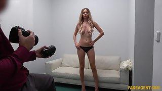 James Brossman fucks busty tall Russian bitch