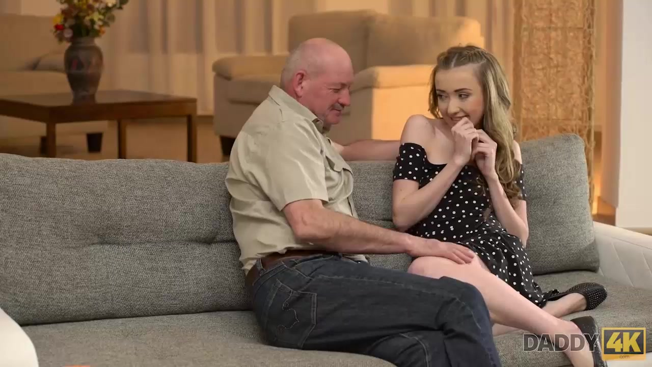 Dad talks a lot with Jessi then seduces her for hard sex